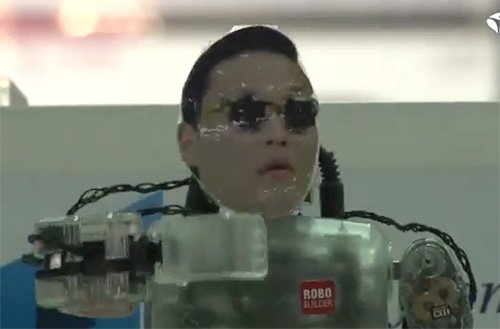 GANGNAM STYLE ROBOT